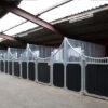 Luxus Pferdestall – Halbhohe boxenfront Pferdebox