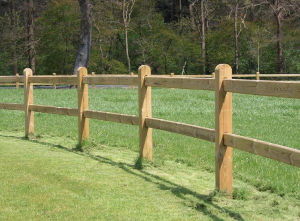 Stecksystem Zaun für Pferde - Luxus Koppelzaun
